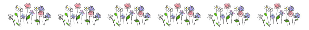 bunch of flowers colour banner